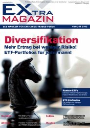 EXtra-Magazin - August 2012 - Diversifikation