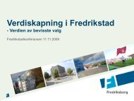 Foredrag Morten Fredriksen - Fredrikstad 2015
