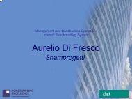 Aurelio Di Fresco - Constructing Excellence