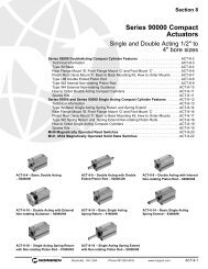 Series 90000 Compact Actuators