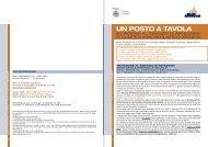 Nota Informativa Un Posto a Tavola 2013-2014 - Comune di Milano