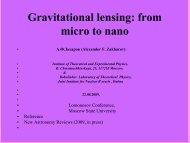 Gravitational lensing: from micro to nano