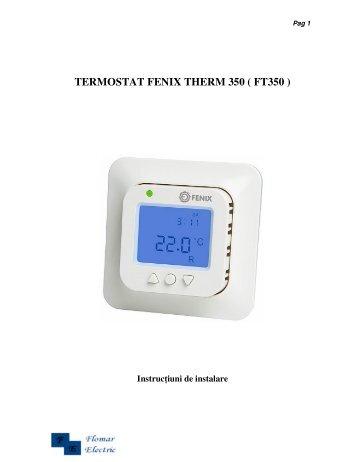 Termostat digital programabil del9000 delphi electric for Bpt ta 350
