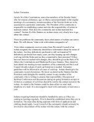 Article for Flos Carmeli on Isolate - Secular Carmelites of the ...