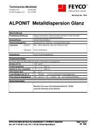 ALPONIT Metalldispersion Glanz