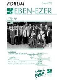 Konfirmation in Eben-Ezer - Stiftung Eben-Ezer