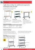 Trolleys Freedom of mobility with trolleys - Page 3