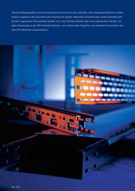 PDF Datei: Broschüre / OBO / Katalog KTS Edelstahl