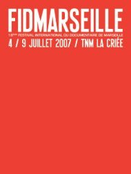 catalogue 2007 en .pdf - Festival international du documentaire de ...
