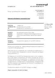 Energimærke for ejendommen - Energiklagenævnet