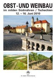 OBST - UND WEINBAU - bei Terra Travel & Consulting AG