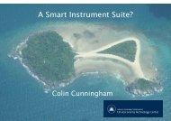 A Smart Instrument Suite?