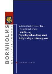 Familie - Bornholms Regionskommune