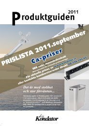 PRISLISTA 2011.september - Edsbyn Inredningar