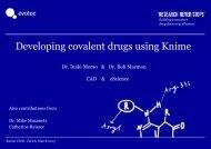 Covalent drugs - Knime