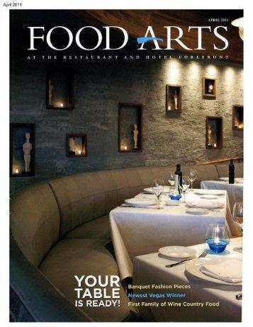Food Arts - The Cosmopolitan Las Vegas