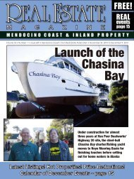 mendocino - Real Estate Magazine