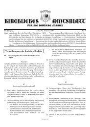 Anordnung über den Kirchlichen Datenschutz - Katholische ...