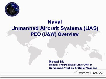 Program Executive Officer, Unmanned Aviation and Strike Weapons ...