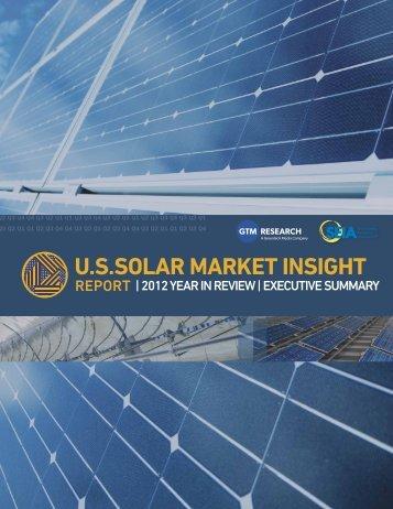 US Solar Market Insight Report