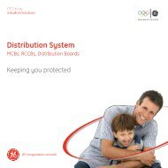Distribution System - GE Industrial Systems