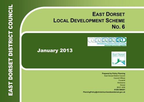East Dorset Local Development Scheme 2013