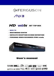 Page 1 - WEB TV - MULTIMEDIA CENTER - SATELLITE ...