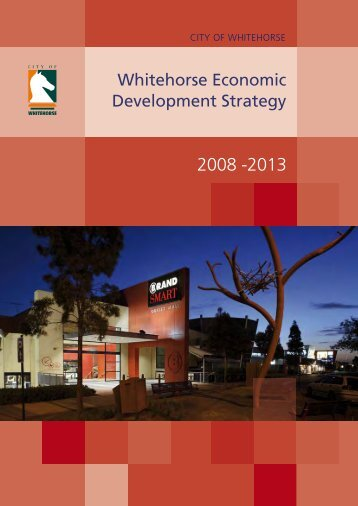 Whitehorse Economic Development Strategy - City of Whitehorse