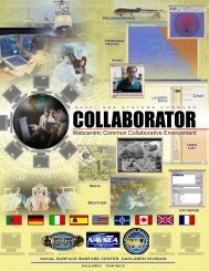 Collaborator - Naval Sea Systems Command - The US Navy