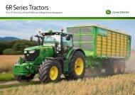 6R Series Tractors - Farming