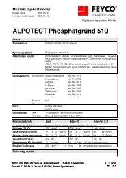 ALPOTECT Phosphatgrund 510