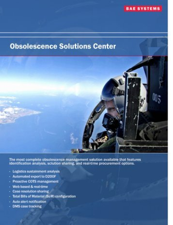 Obsolescence Solutions Center - AVCOM