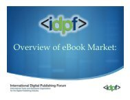 Overview of eBook Market: - Key4biz