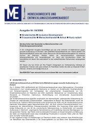 Newsletter 4/2008 - Ludwig Boltzmann Institut für Menschenrechte