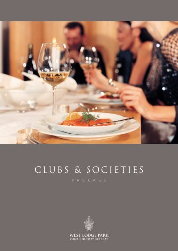 Clubs & societies Package - Beales Hotels
