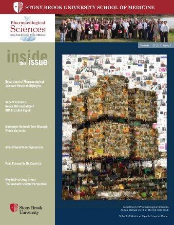 Pharm Stonybrook - Pharmacological Sciences