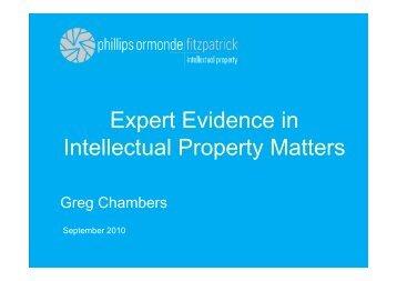 of Experts - FICPI