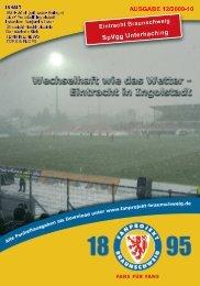 Heft 12: SpVgg Unterhaching - FanPresse Braunschweig