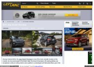 Jeep Cherokee 2014 specs - Mobileye