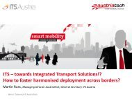 ITS – towards Integrated Transport Solutions!? How to foster ...