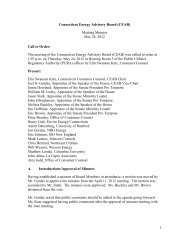 1 Connecticut Energy Advisory Board (CEAB) Meeting Minutes May ...