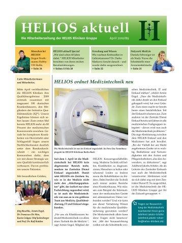 HELIOS ordnet Medizintechnik neu - HELIOS Kliniken GmbH