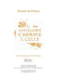Dossier de Presse HC 2011 FR - Alain Ducasse