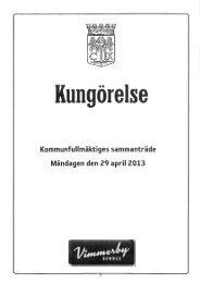 2013-04-29 - Vimmerby Kommun