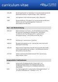 Curriculum Vitae - Vorlage - IMC Fachhochschule Krems Gmbh - Page 2