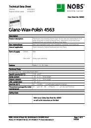 Glanz-Wax-Polish 4563 Polish 4563 Polish 4563 - Nobs