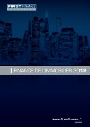 1. CATALOGUE-Immobilier.indd - First Finance