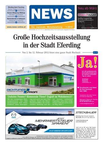 Große Hochzeitsausstellung in der Stadt Eferding - NEWS-ONLINE.at