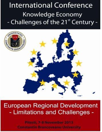 Pliantul conferinţei - Universitatea Constantin Brancoveanu