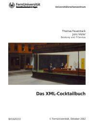 Das Xml-Cocktailbuch